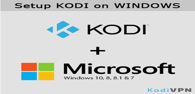 setup kodi on windows