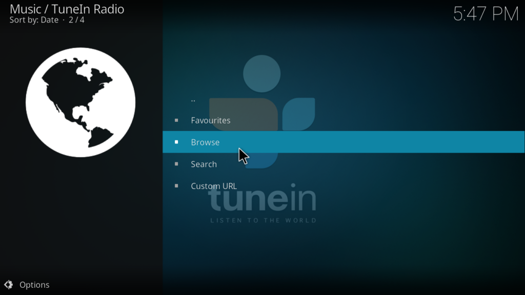 TuneInRadio - Effective Kodi Krypton Addon for Radio Listeners
