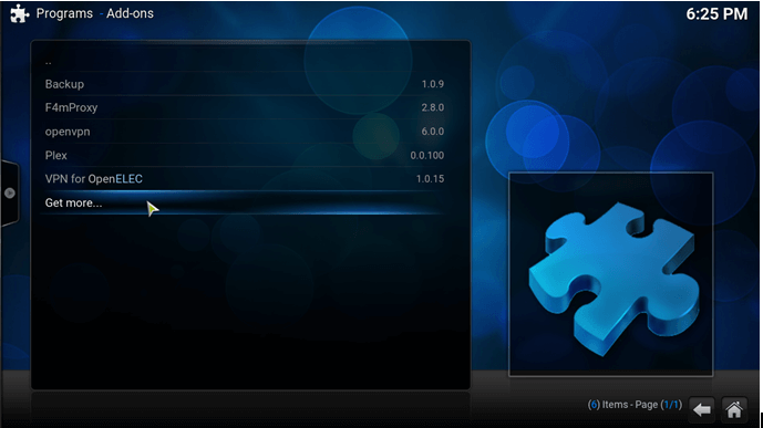 how to update kodi on windows