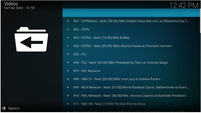 smoothstreams kodi addon