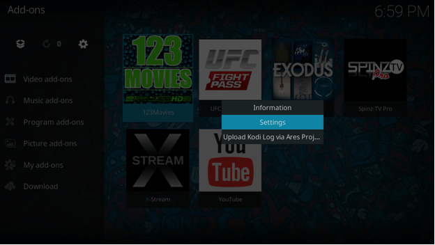 123movies addon new url