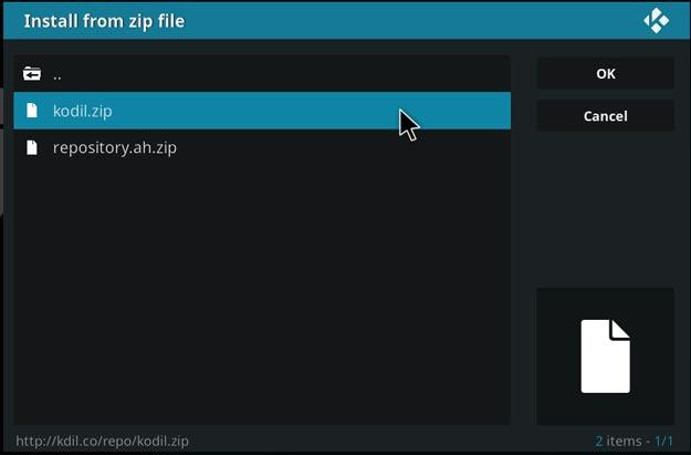 navi-x install zip file kodi