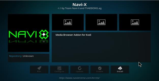 navi-x addon setup on kodi krypton version 17