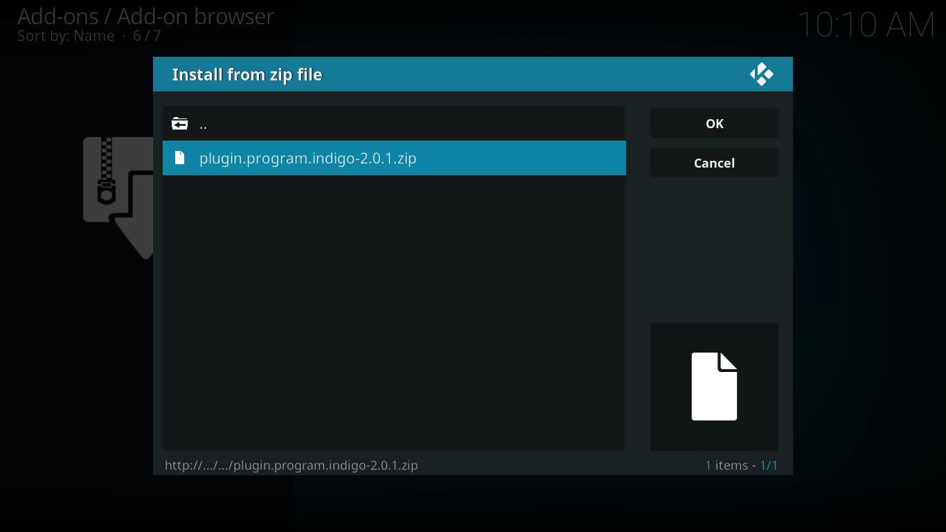 Castaway Add-on Displays Error