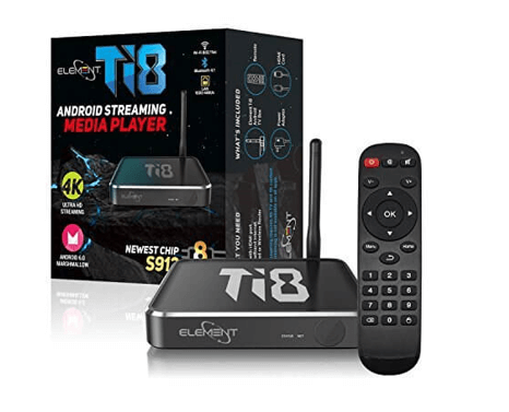Element T18 Android kodi box