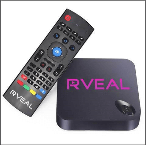 Rveal RT5 kodi box