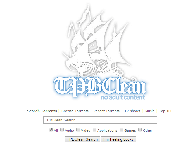 TPB Clean is alternative for extratorrent