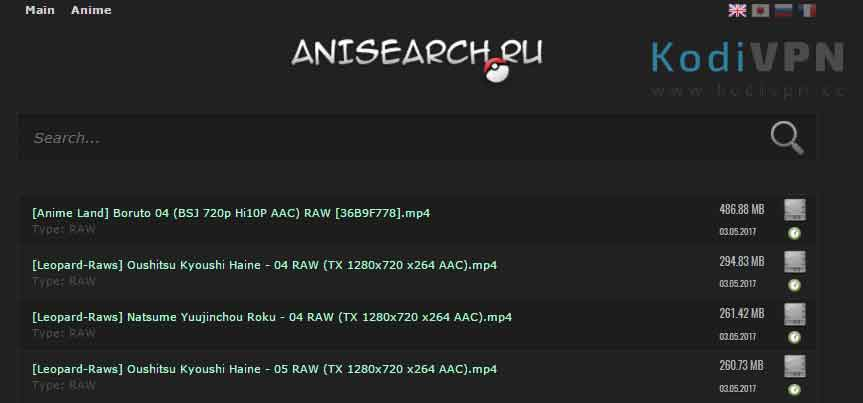 anisearch