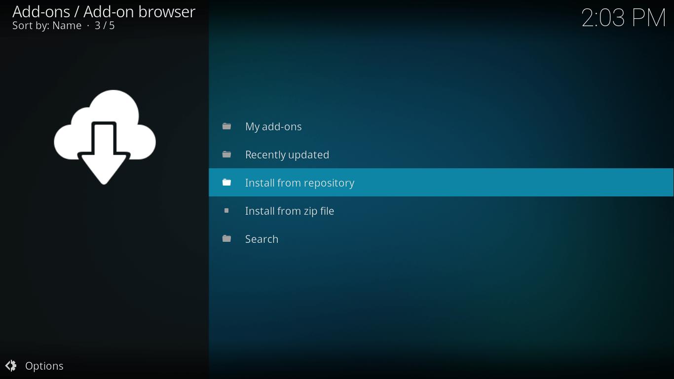 castaway kodi settings