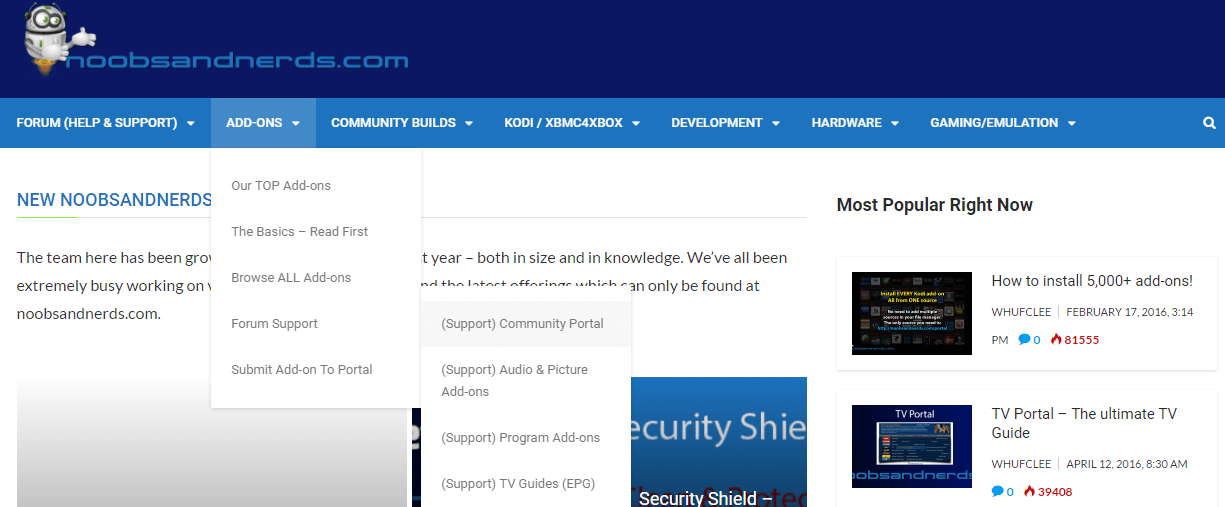 noobs and nerds website