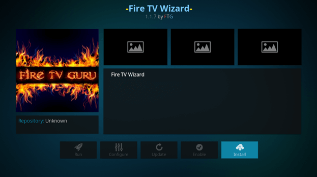 setup guru build on amazon fire stick wizard
