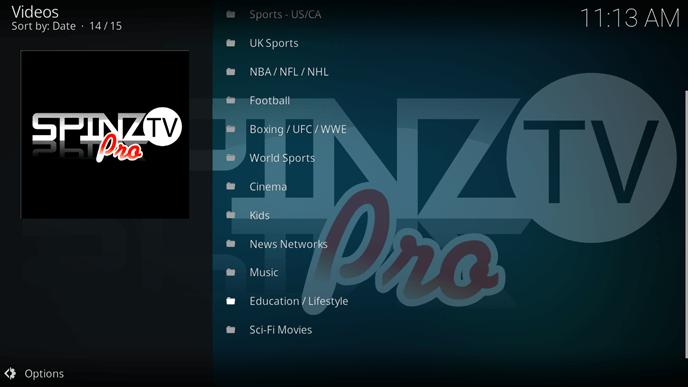 spinz tv pro videos