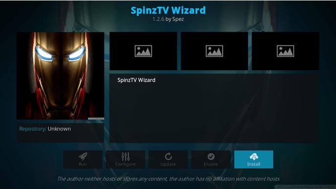 spinz tv wizard