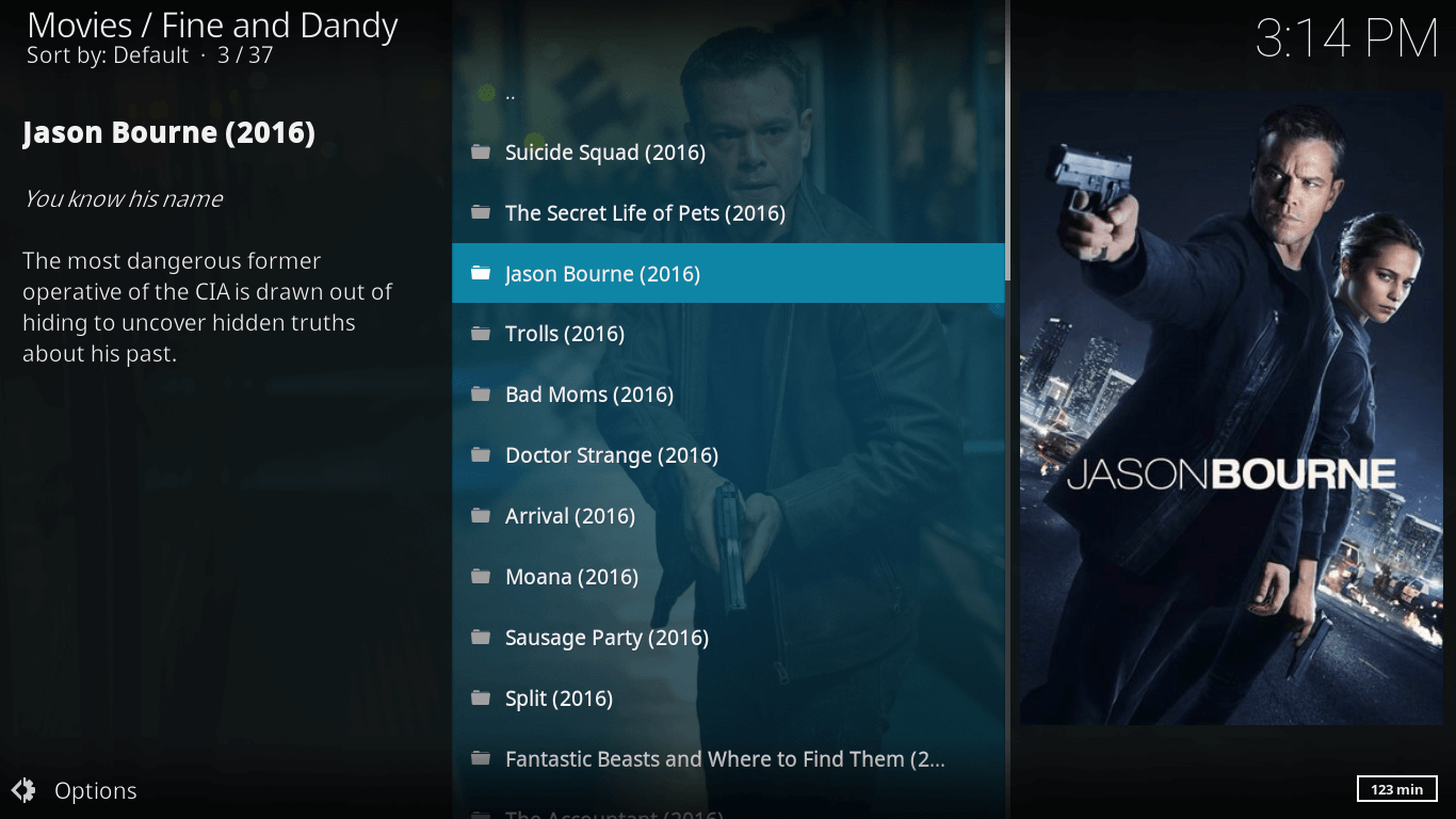 Fine and Dandy Kodi Addon