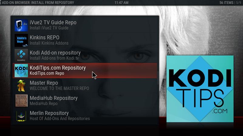 Kodi Tips Repository