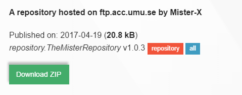 Download Mister Repository