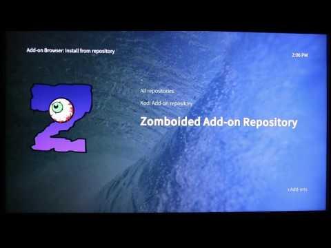 Zomboided kodi repository