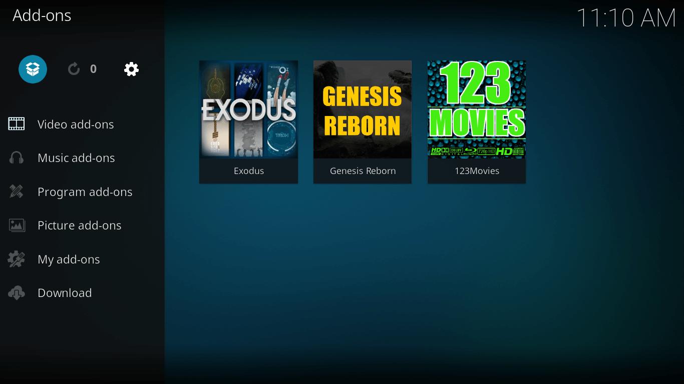 add 321 movies on kodi