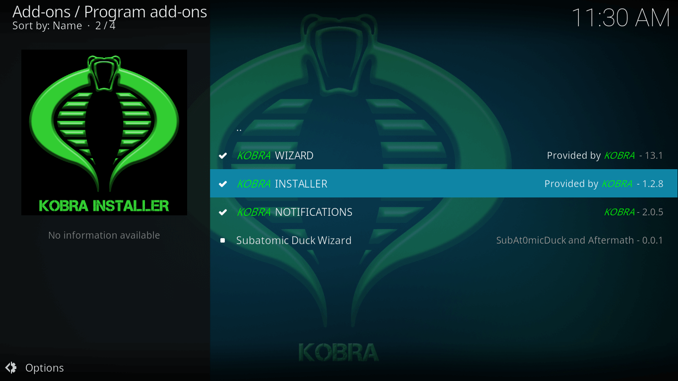 how to install cloud vpn on kodi