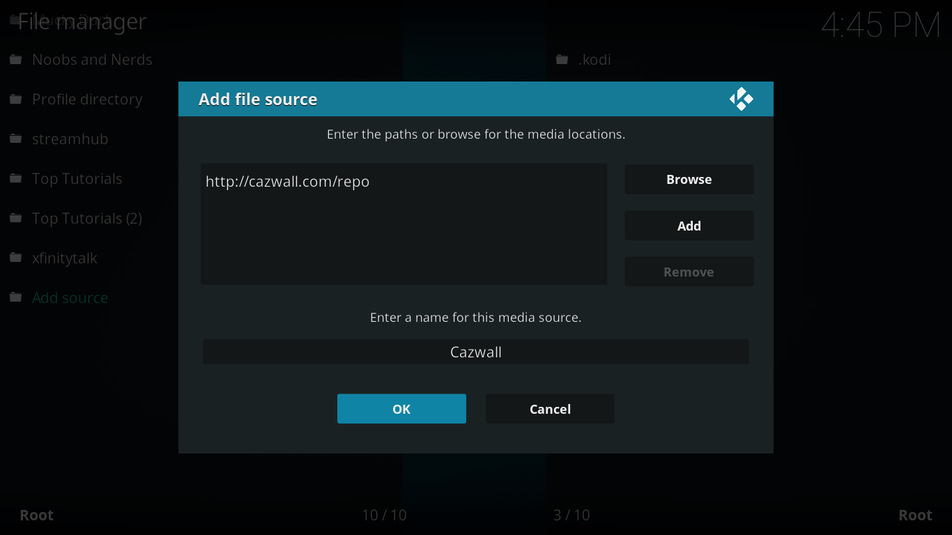 How to Install Watch5S on Kodi Krypton Version 17.6