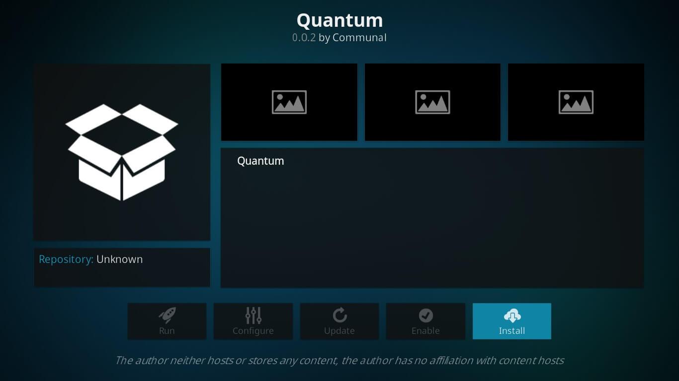 Sanctuary quantum kodi
