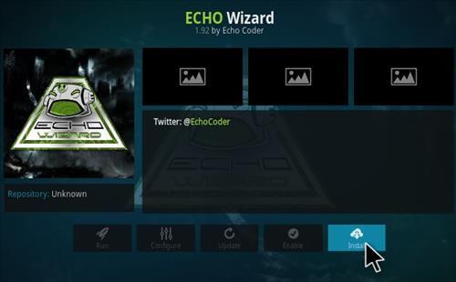 eco wizard kodi settings