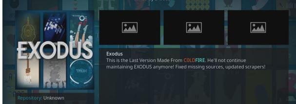 exodus addon update