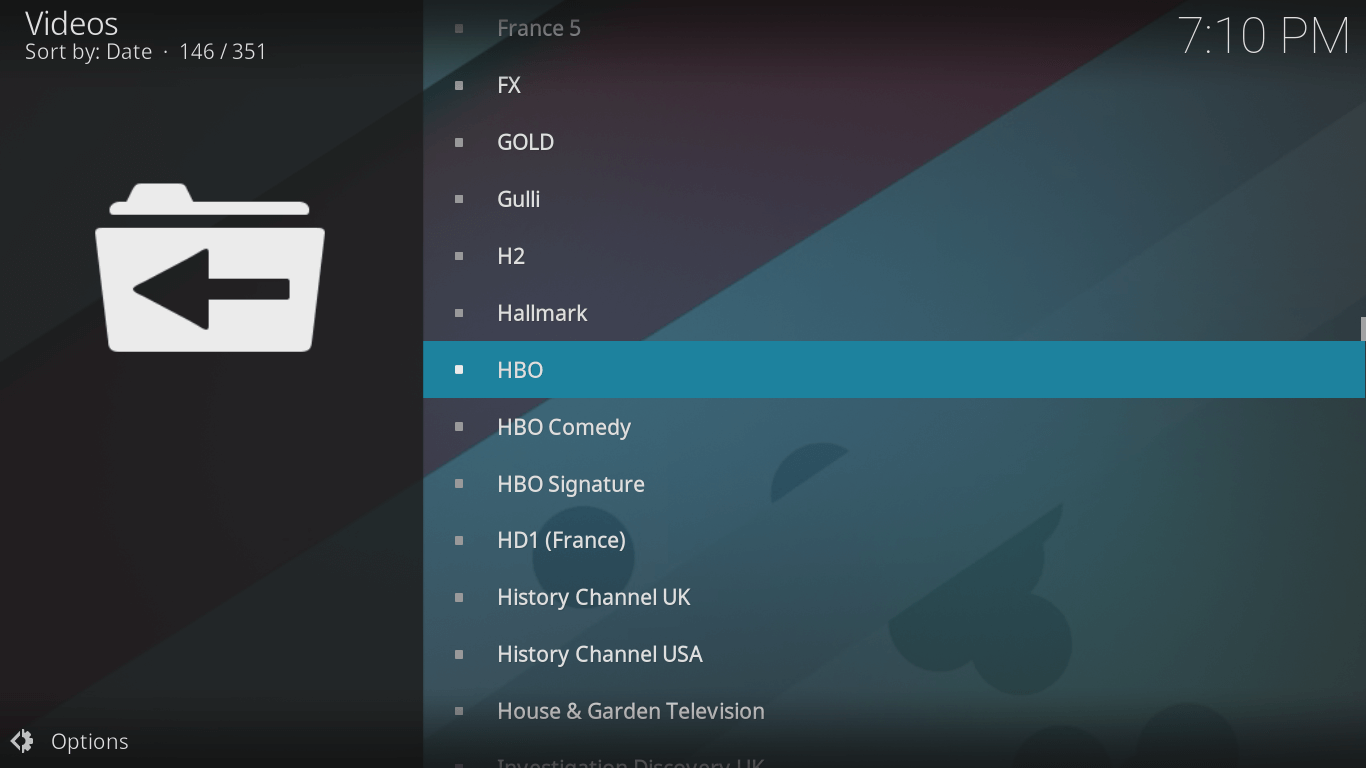 hbo kodi configuration