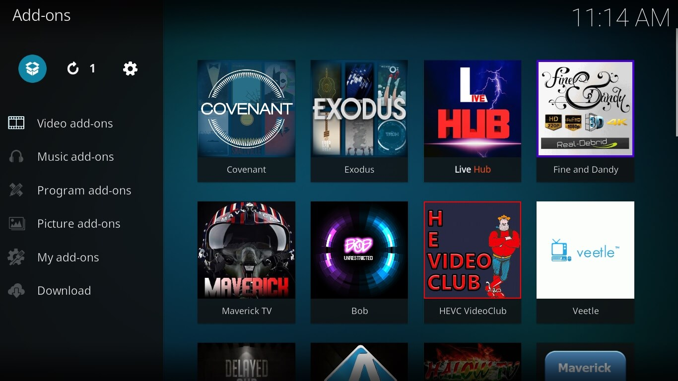 showbox on kodi setup