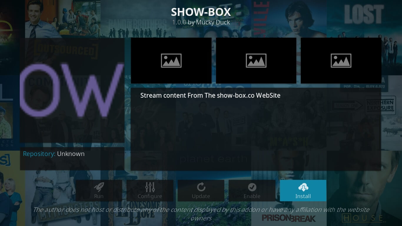 showbox stream on kodi