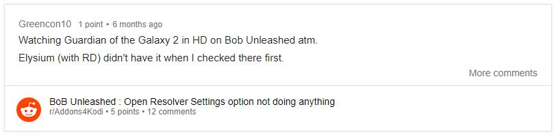 bob unleashed reddit review
