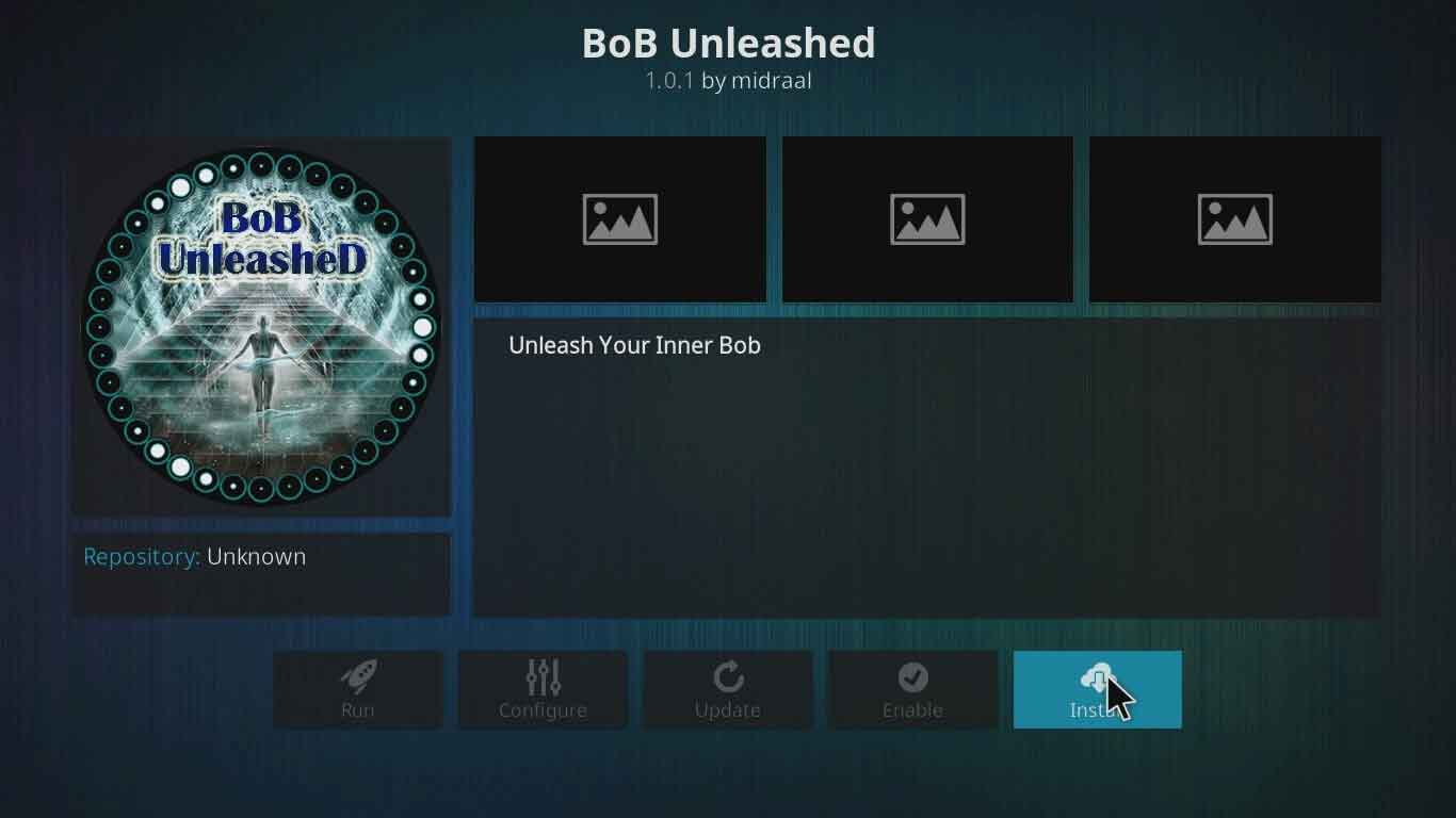 bob unrestricted unleashed on kodi setup