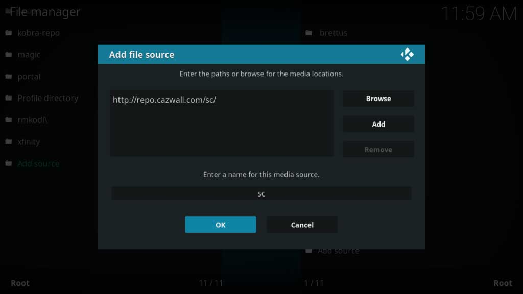 exodus kodi file source