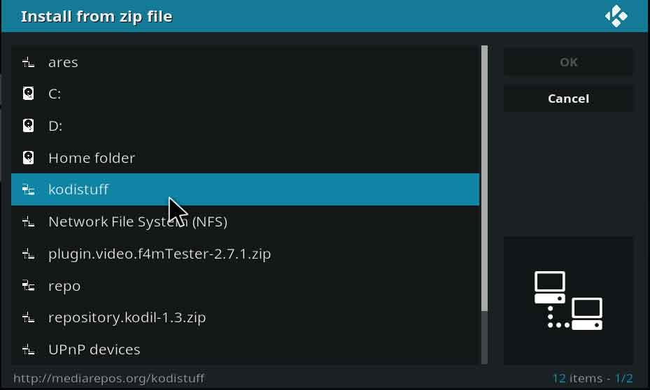 이탈 kodistuff 파일