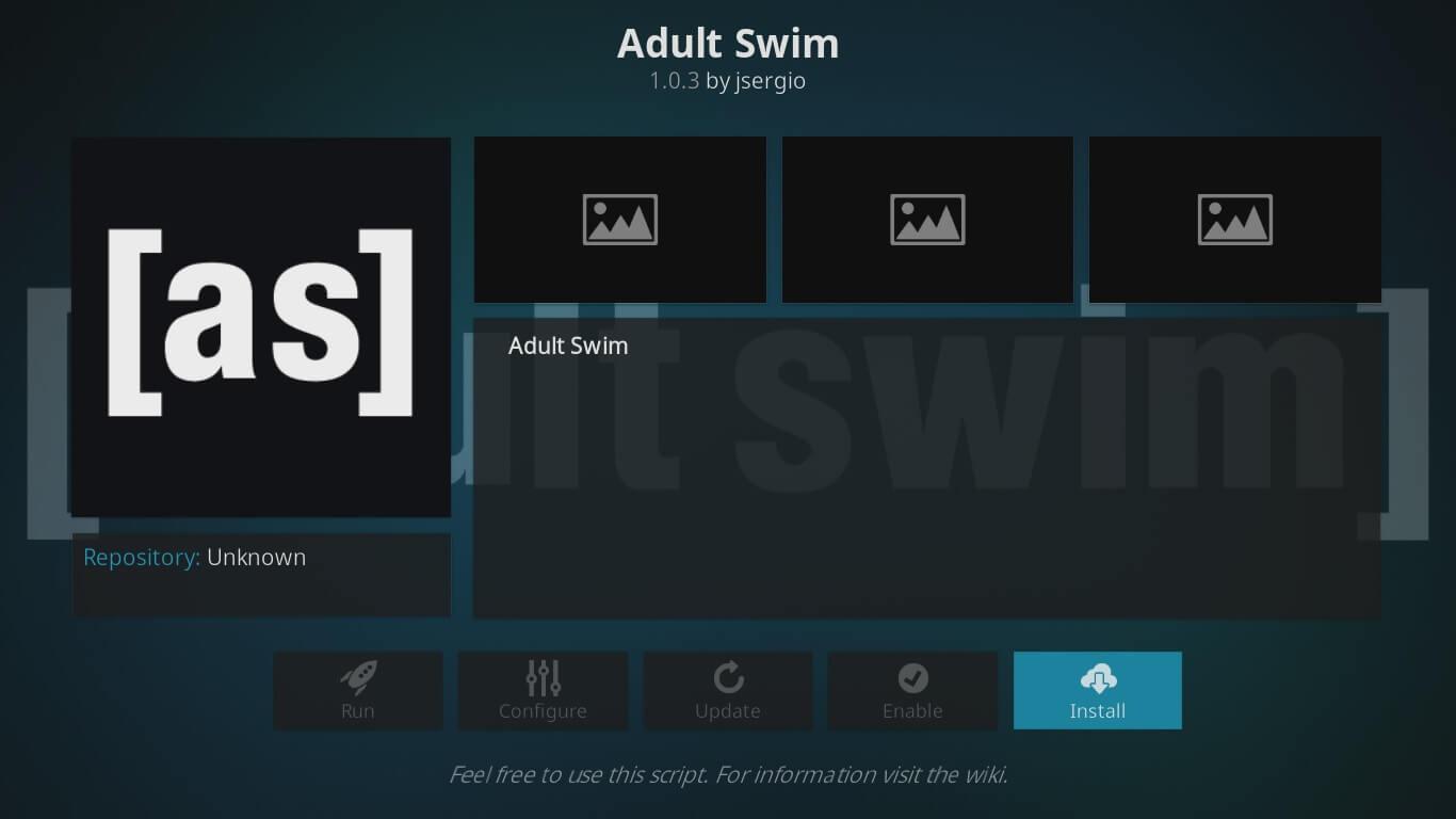 adult swim kodi setup