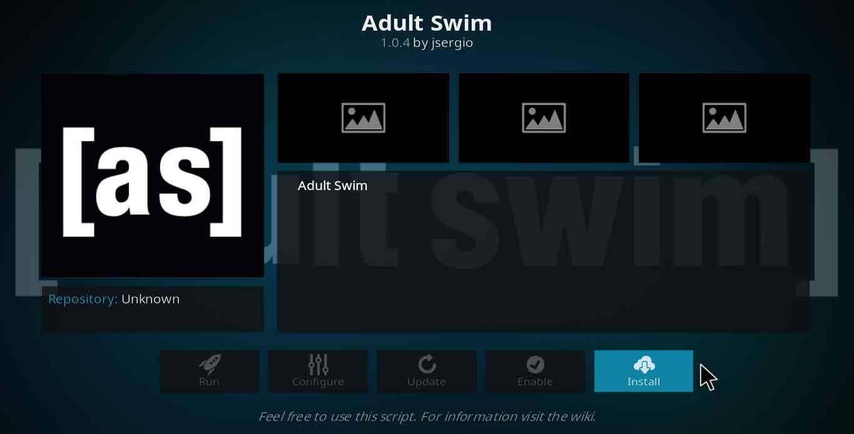 adult swim kodi