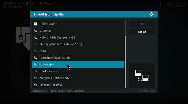superrepo zip file install