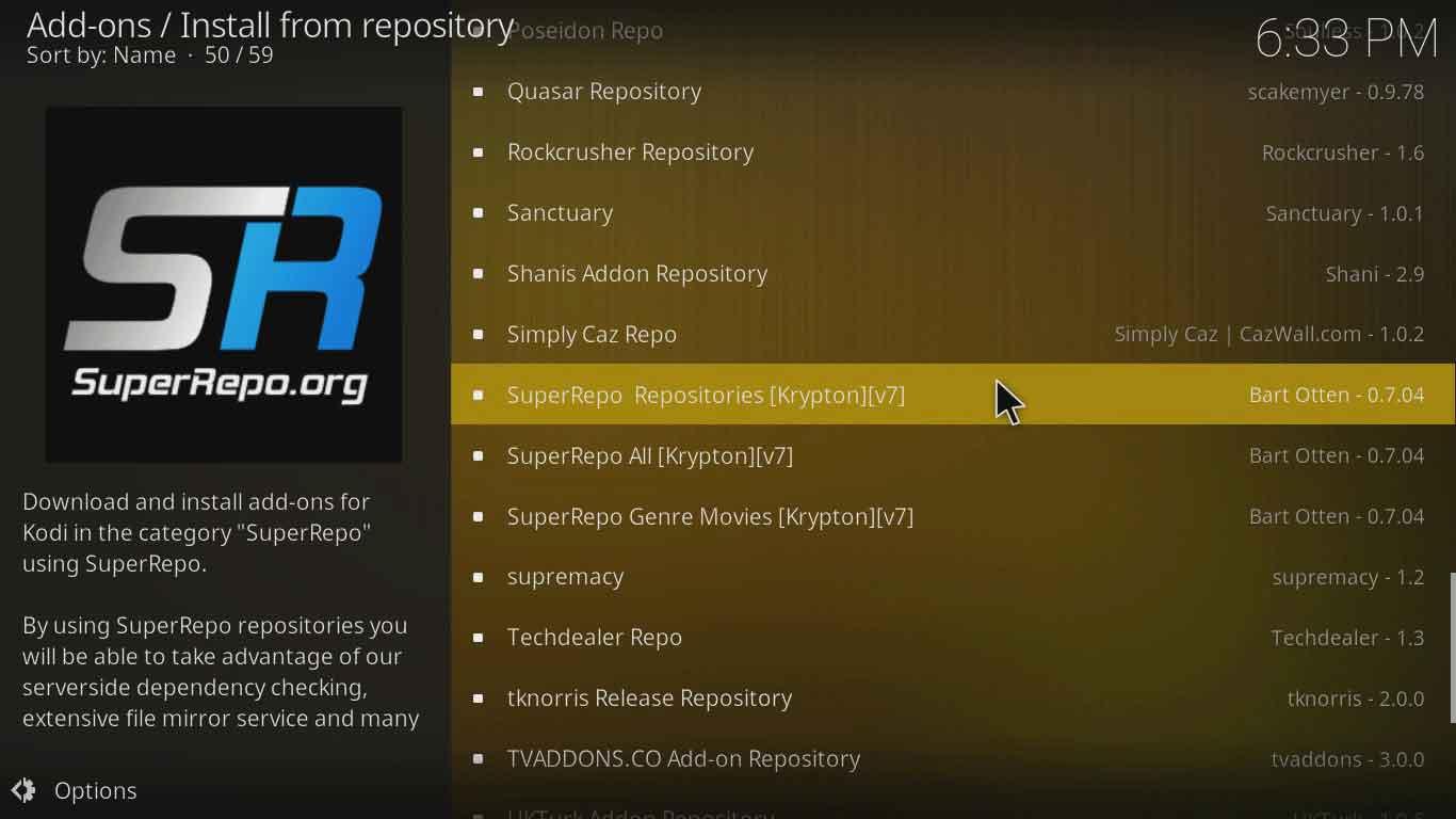 i4atv kodi settings