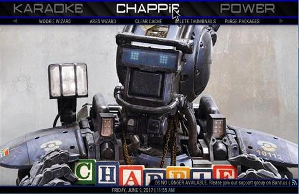 Chappie kodi build