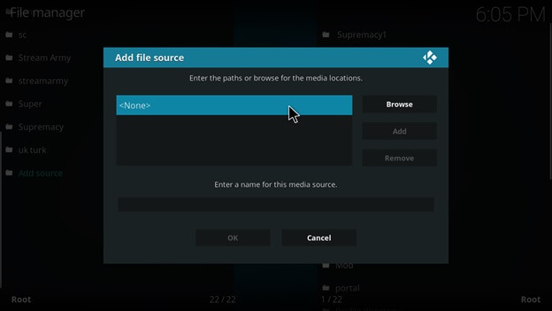 superrepo on kodi settings