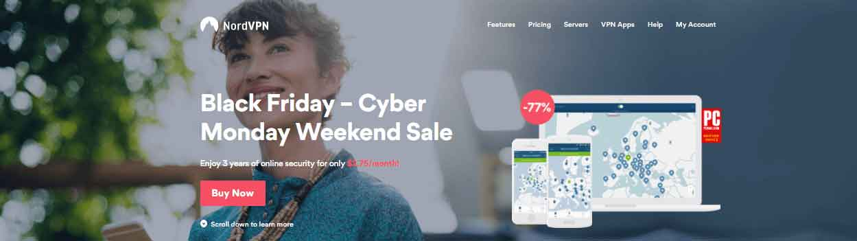 Nordvpn cyber monday deal