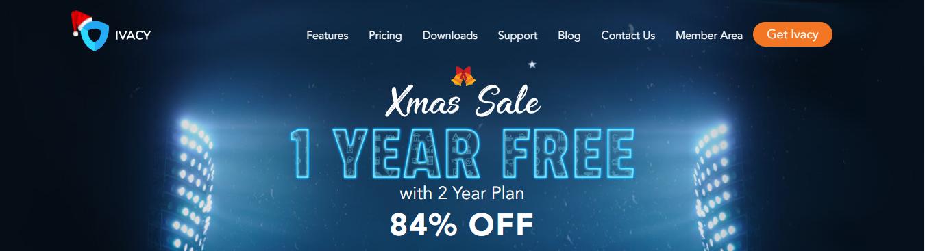 Ivacy VPN Christmas Deal