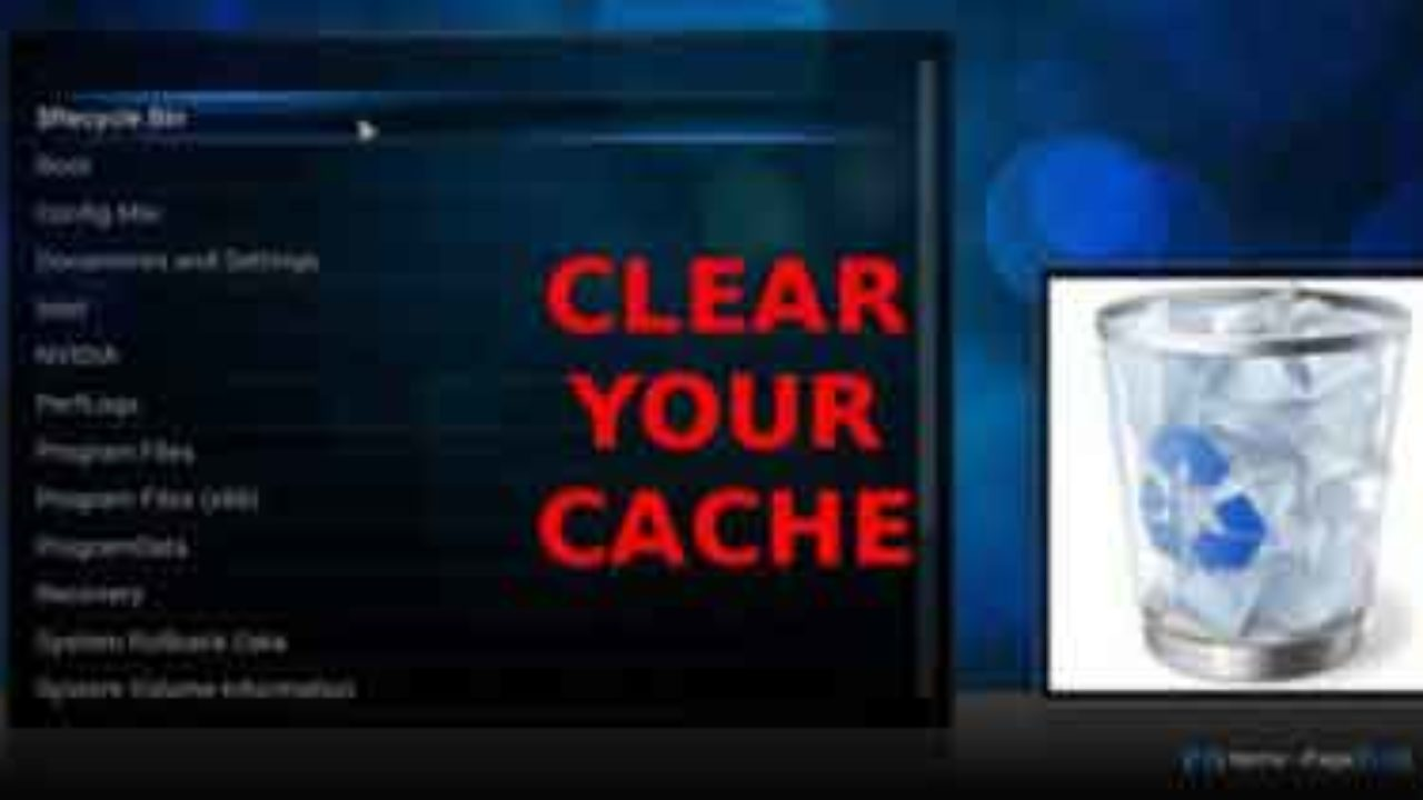 How to Clear/Remove Cache, Stop Kodi Buffering Issue