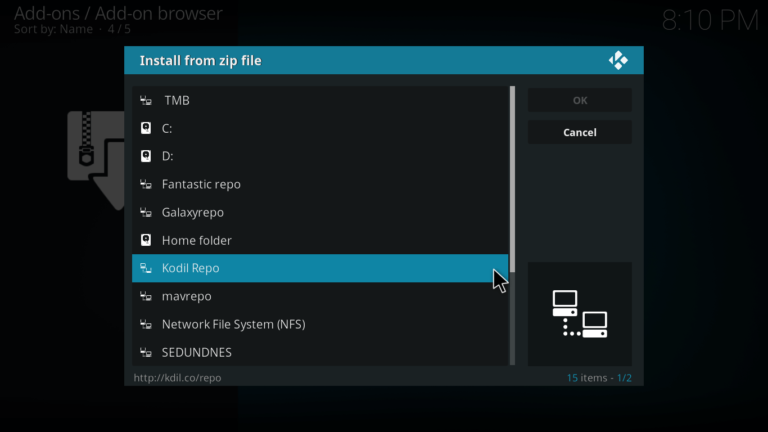 Poseidon install from zip file