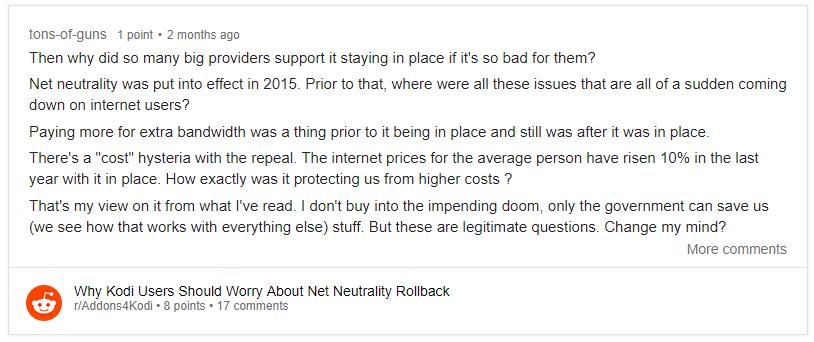net neutrality reddit