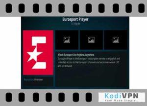 Eurosports player kodi addon