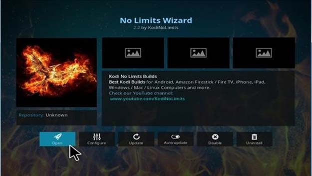 No limits kodi wizard