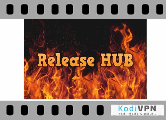 how to add release hub to kodi