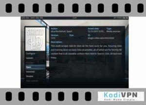 Strictly HD kodi addon