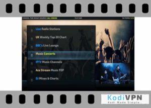 The Music Source kodi addon